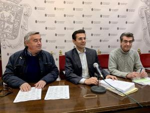 De izquierda a derecha, Juan Francisco Martín, Francisco Cuenca y Antonio Cambril.