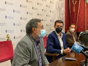Cuenca con los representantes de ALUMA.