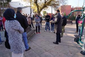 Francisco Cuenca, este martes, en Casería de Montijo.