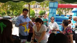 Cuenca, en un acto en la zona Norte.