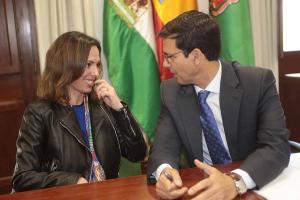 Rocío Díaz y Francisco Cuenca.