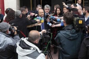 Torres Hurtado, tras declarar el juzgado por el caso Nazarí.