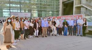Delegación socialista de Granada en el Congreso de Valencia.
