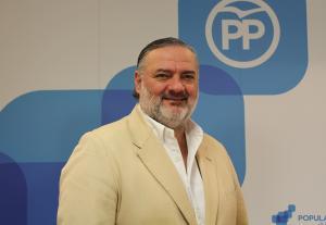 Pablo García, presidente del PP granadino.