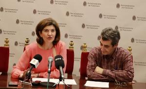Elisa Cabrerizo y Antonio Cambril.