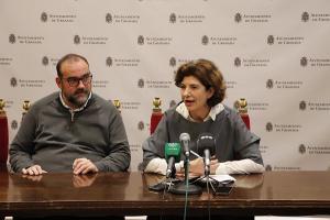Paco Puentedura y Elisa Cabrerizo.