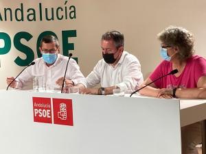 José Entrena, durante su intervención en un reciente acto de Juan Espadas en Granada.