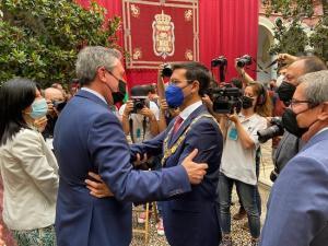 Juan Espadas y Paco Cuenca.