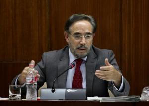 Felipe López en una comparecencia parlamentaria.