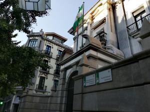 Sede de la Fiscalía Superior de Andalucía.