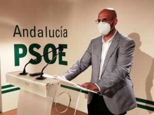 Miguel Román, en rueda de prensa.