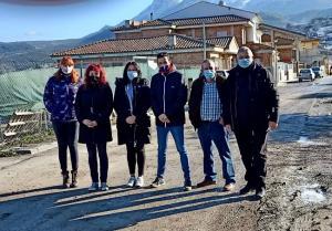 Representantes de Podemos en Deifontes.