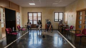 Foto del pleno de Molvízar, al que no ha acudido la oposición.