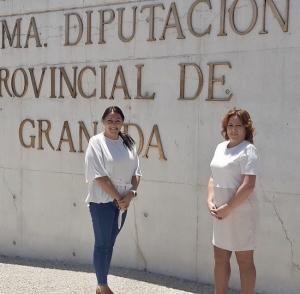 Alejandra Durán (Podemos) y Mari Carmen Pérez (IU).