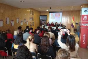 Acto celebrado en Alhama de Granada.