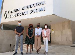 Abelardo Vico, Elvira Ramón, Mariana Palma y María José Sánchez.