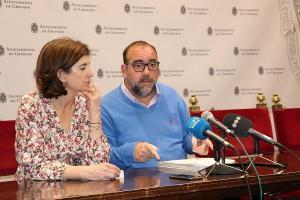 Elisa Cabrerizo y Francisco Puentedura, en una imagen de archivo.