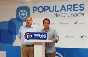 Juan Antonio Fuentes y José Robles.