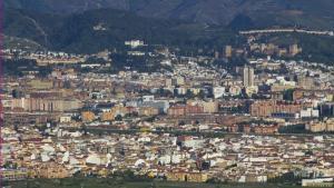Vista general de la capital.