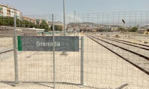 Granada, un páramo ferroviario desde hace dos años.