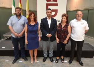 Representantes de IU y Vamos, Granada en la Diputación.