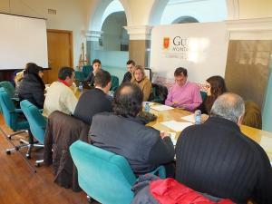 Encuentro informativo con la alcaldesa de Guadix.