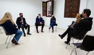 Reunión con representantes vecinales del Barranco del Abogado.
