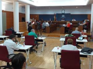 Pleno del Ayuntamiento de Motril.