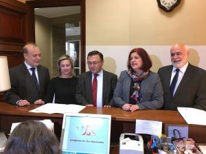 Diputados socialistas presentan iniciativas sobre el AVE.