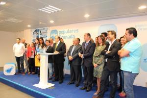 Sebastián Pérez, junto a la candidatura que lidera Torres Hurtado.