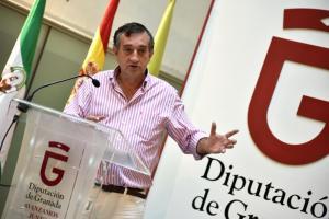 El diputado de Economía, Manuel Gómez Vidal.