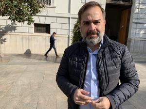 Jacobo Calvo, edil del PSOE, en una imagen de archivo.