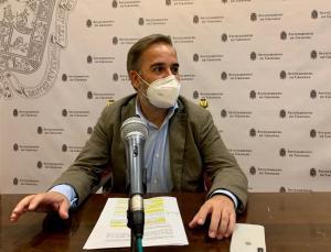 Jacobo Calvo en rueda de prensa.