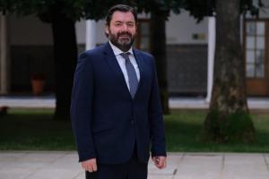 Joaquín López-Sidro en una imagen en el Parlamento.