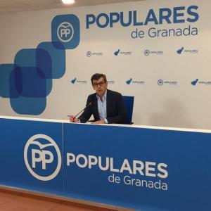 El diputado andaluz del PP Juan Ramón Ferreira.