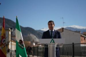 Moreno, en una imagen de archivo en Padul.