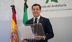 El presidente de la Junta, la pasada semana en Granada.