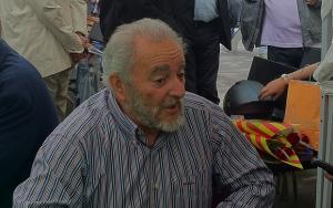 Julio Anguita, en una imagen de 2014.