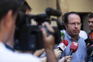 El concejal del PP Francisco Ledesma.