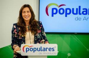 Loles López, este lunes en Sevilla.
