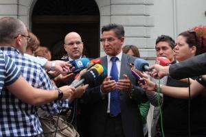 Luis Salvador ha hablado esta mañana con el alcalde.