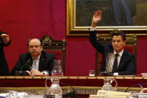 Luis Salvador y Sebastián Pérez en una imagen de archivo.
