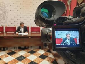 Rueda de prensa de Miguel Ángel Fernández Madrid.
