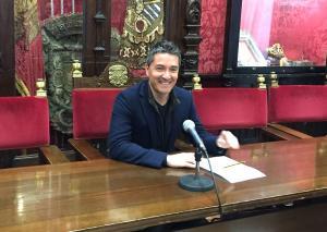Olivares, en rueda de prensa.