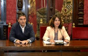 Manuel Olivares y Lorena Rodríguez.