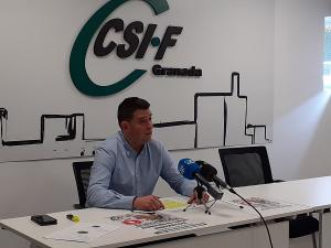 Manuel Pérez, responsable de Educación del sindicato.