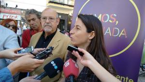 Marta Gutiérrez junto a Luis de Haro Rossi.