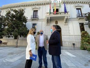 Eva Martín, José Robles y Fernando Pérez.