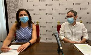Raquel Ruz y Miguel Ángel Fernández Madrid.