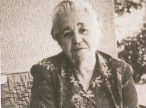 María Lejárraga, en una imagen de su exilio en Argentina.